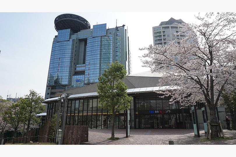 TBS赤坂ACTシアターの外観・内装