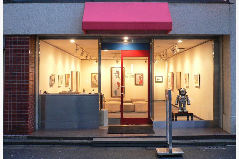 ギャラリー和田の外観・内装