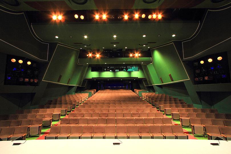 銀座 博品館劇場の外観・内装