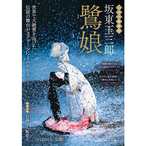 シネマ歌舞伎「鷺娘」-坂東玉三郎を大スクリーンで(映画館で楽しむ能楽・歌舞伎・時代劇)のイメージ画像
