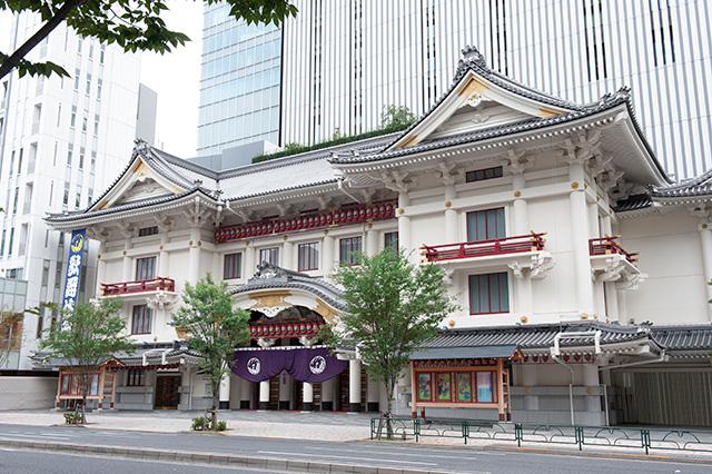 ようこそ歌舞伎座へ! 八月は三部制公演です!のイメージ画像