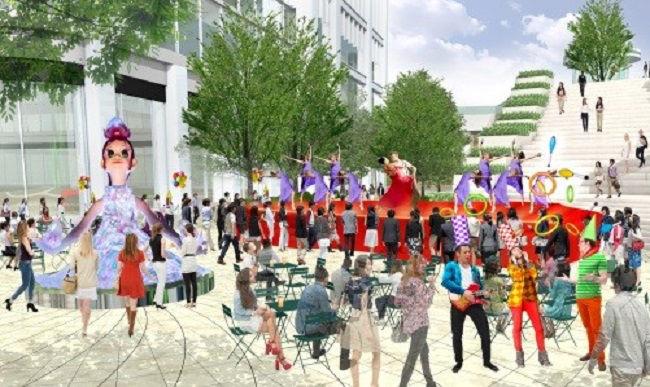 街を盛り上げるHibiya Festival 4月26日スタートのイメージ画像